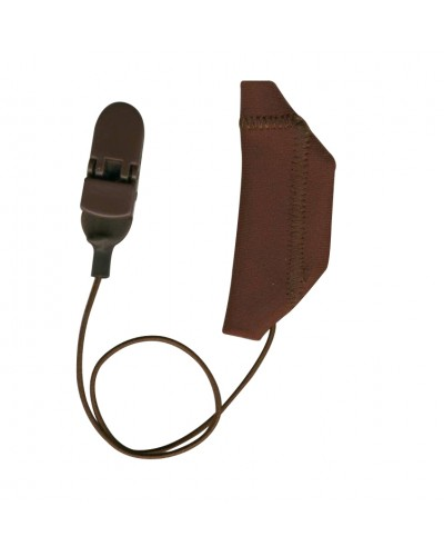 Cochlear, Monaural (single), with cord, Brown