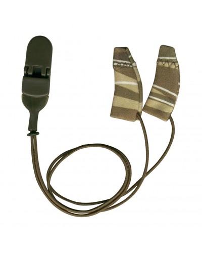 Mini Curved, Binaural (dual), with cord, Camo