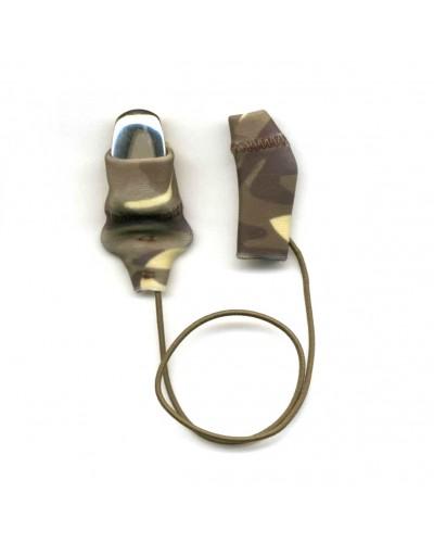 Mini Squared, Monaural (single), with cord, Camo
