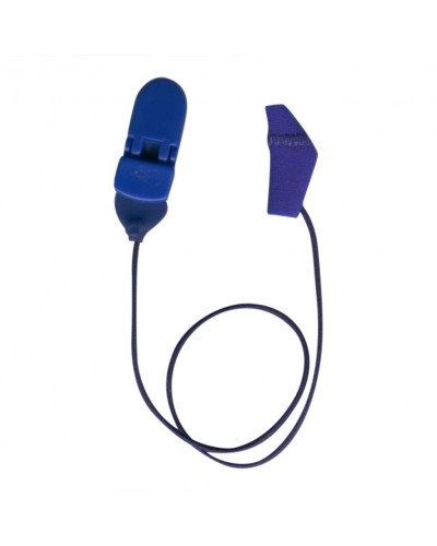 Micro, Monaural (single), with cord, Royal Blue