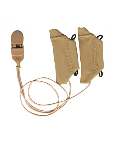 Cochlear, Beige, Binaural (dual), with cord, for eyeglasses
