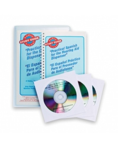 Practical Spanish for the Hearing Aid Dispenser Book & CDs