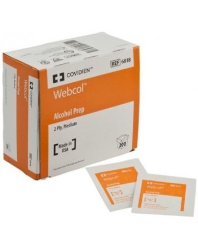 Covidien Webcol - Alcohol Prep Pads