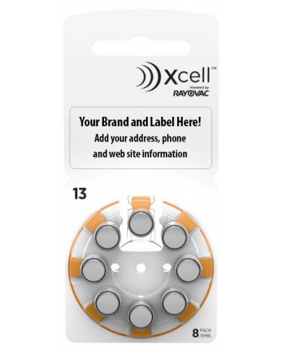 Xcell Private Label Batteries Size 13