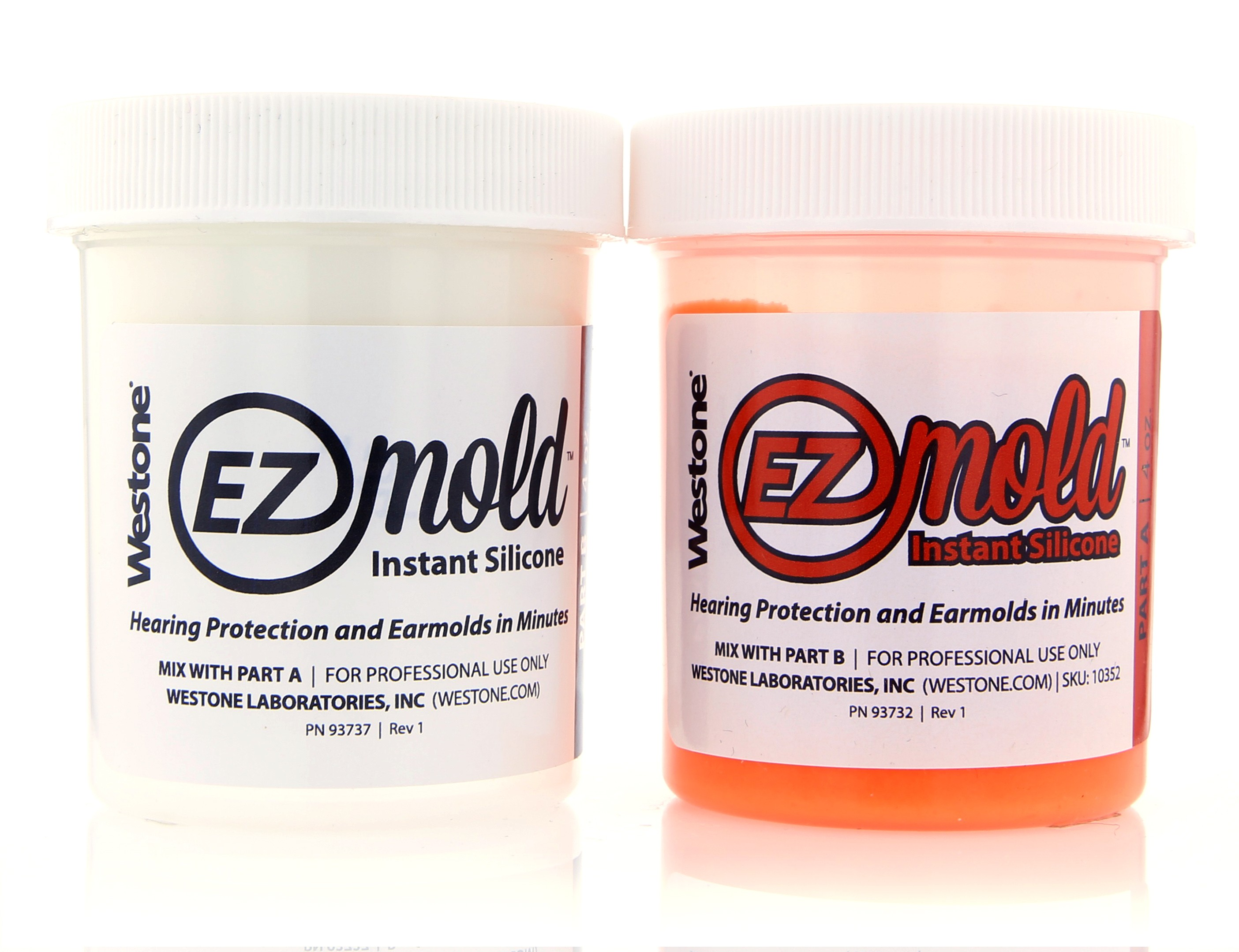 EZ Mold 4oz Tub Set - Orange