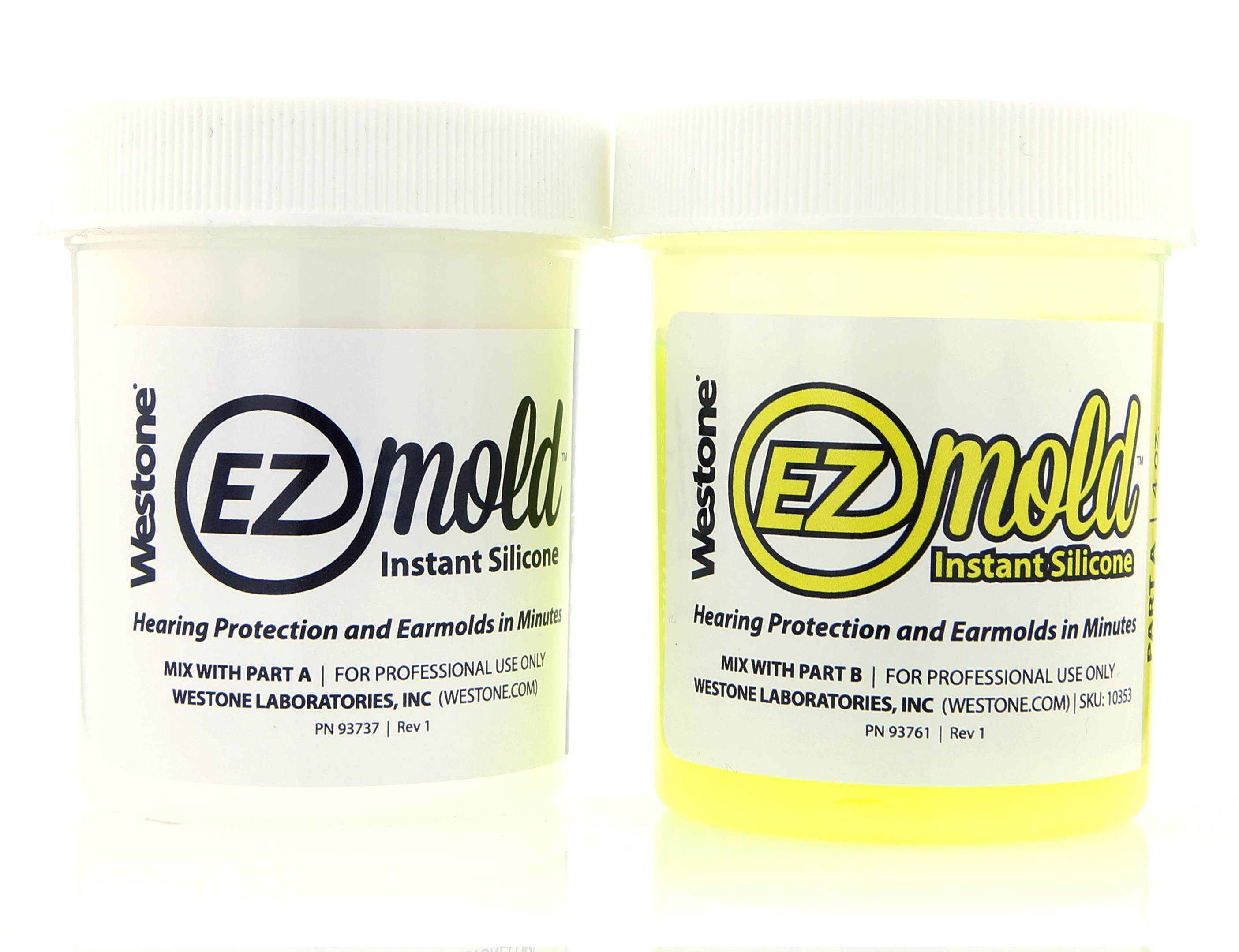 EZ Mold 4oz Tub Set - Yellow