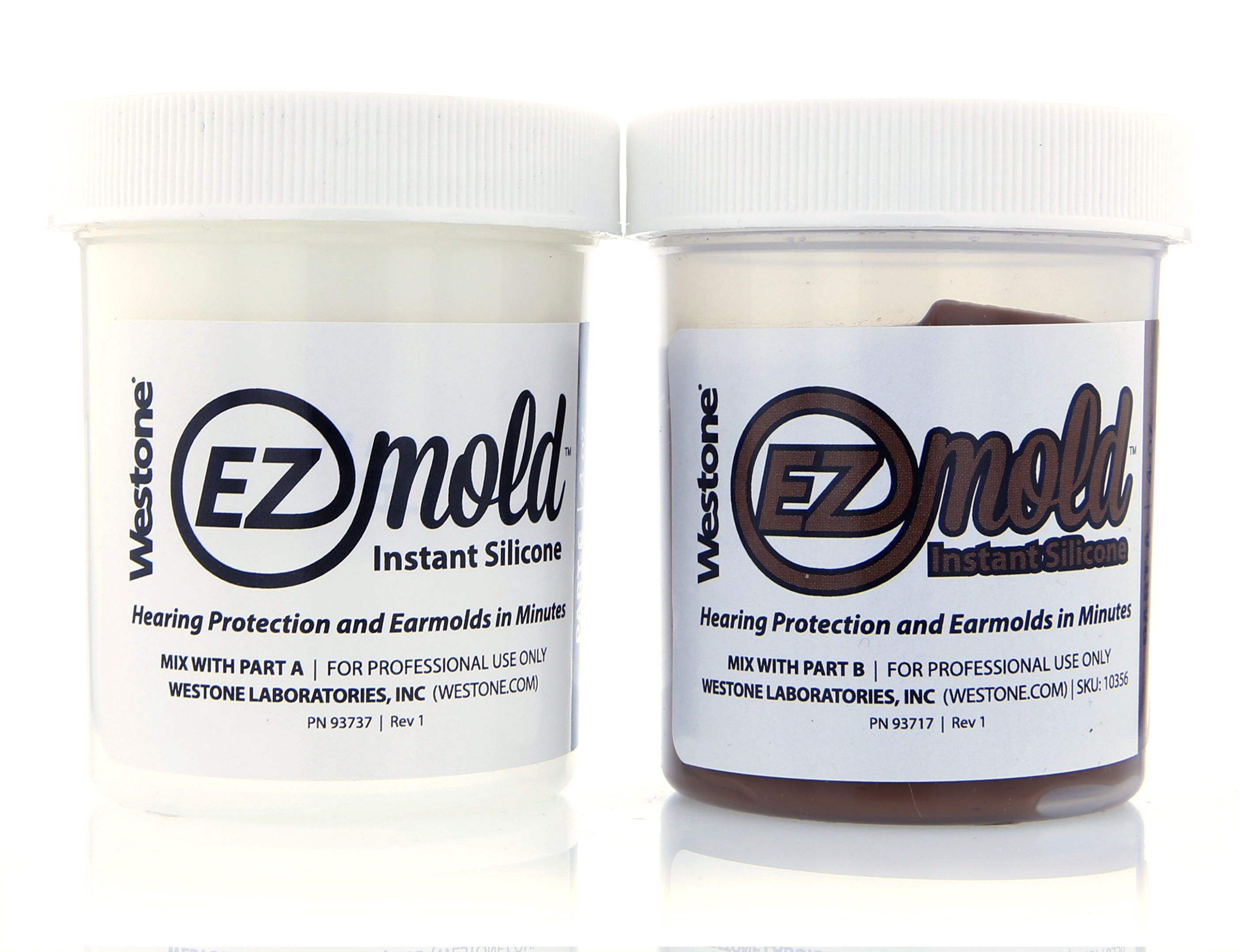 EZ Mold 4oz Tub Set - Brown