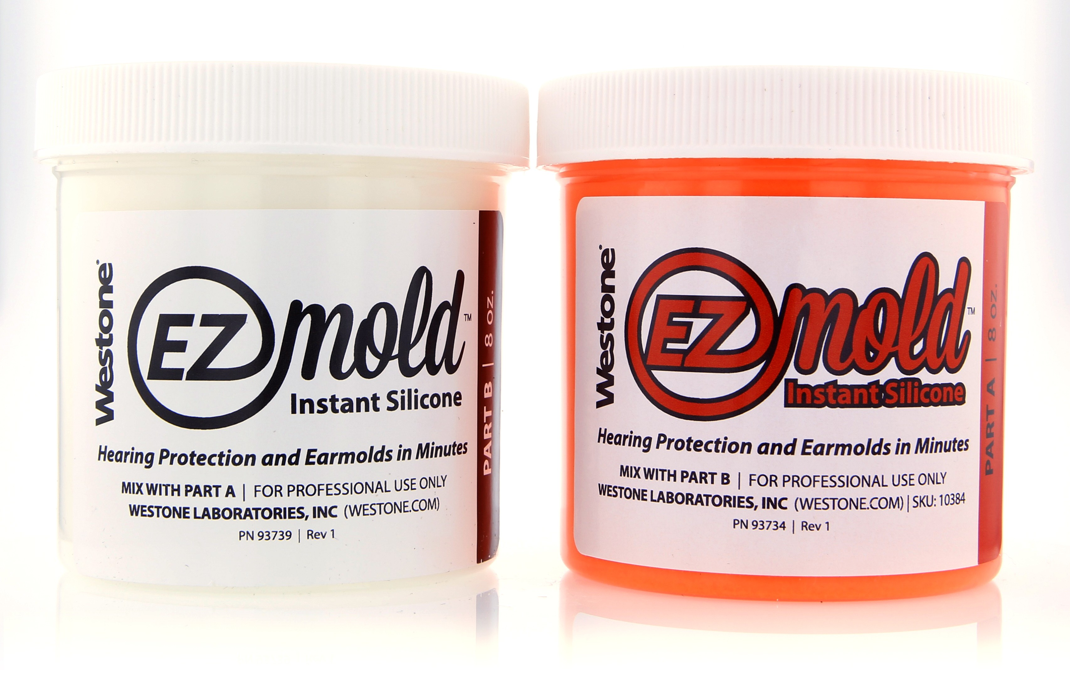 EZ Mold 8oz Tub Set - Orange