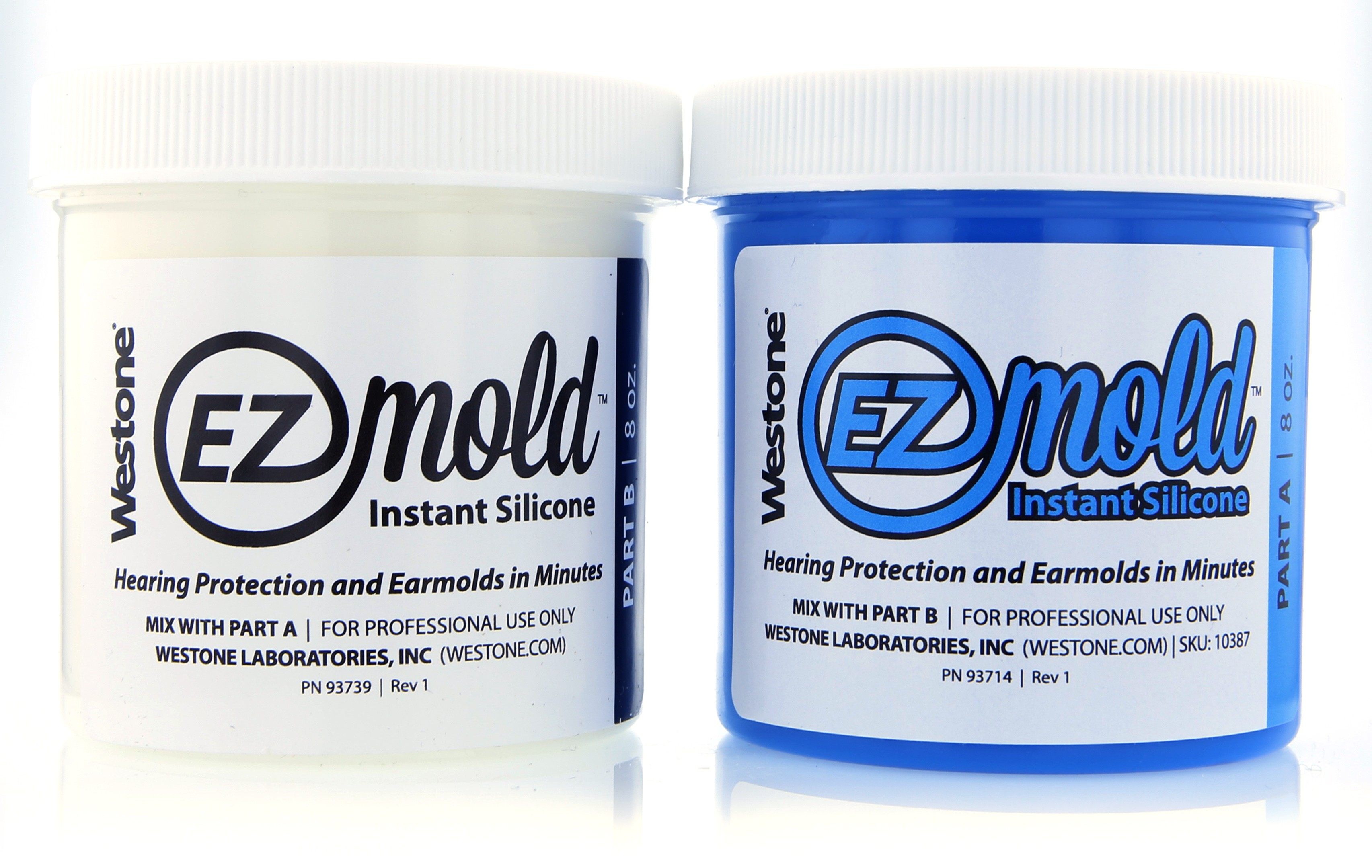 EZ Mold 8oz Tub Set - Blue