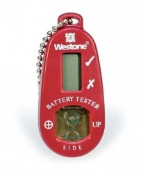 Digital Battery Tester with Storage Compartment