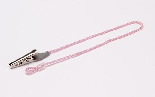 Nylon BTE OtoClip, Monaural (single), Pink
