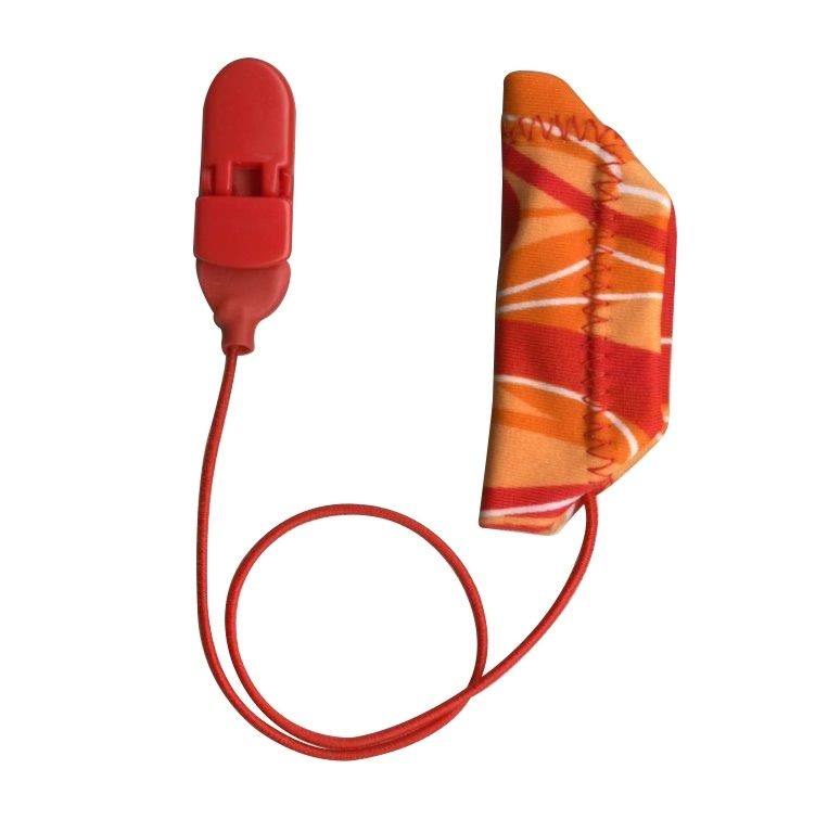 Cochlear, Monaural (single), with cord, Red/Orange