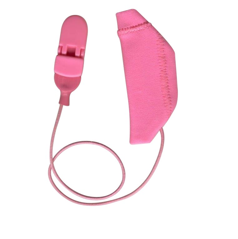 Cochlear, Monaural (single), with cord, Pink