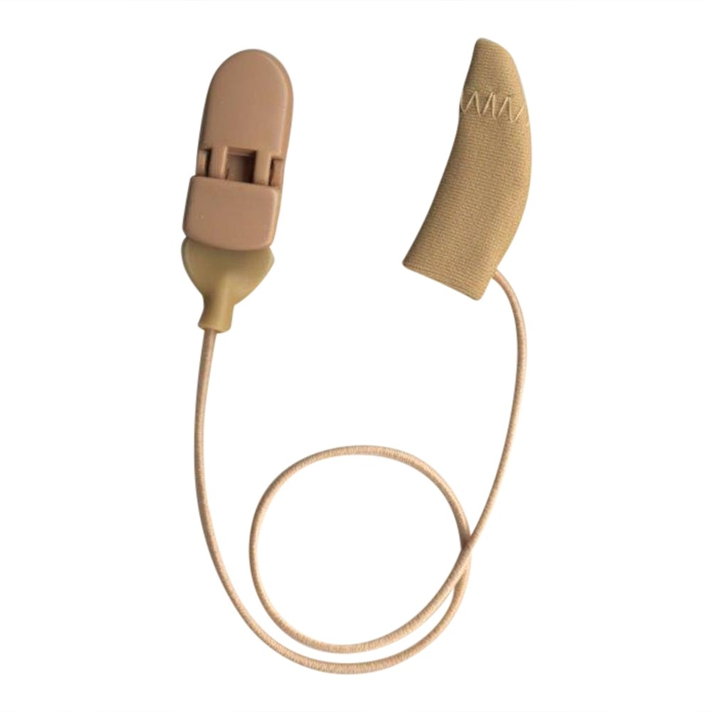Mini Curved, Monaural (single), with cord, Beige