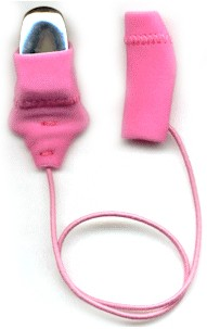 Mini Squared, Monaural (single), with cord, Pink