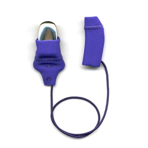 Mini Squared, Monaural (single), with cord, Royal Blue