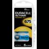 Duracell Activair Batteries Size 675