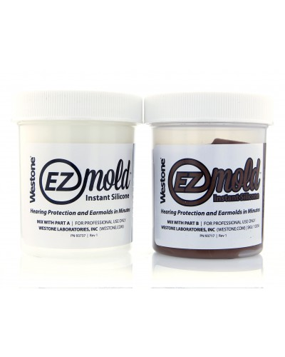 EZ Mold 4oz Tub Set - Brown