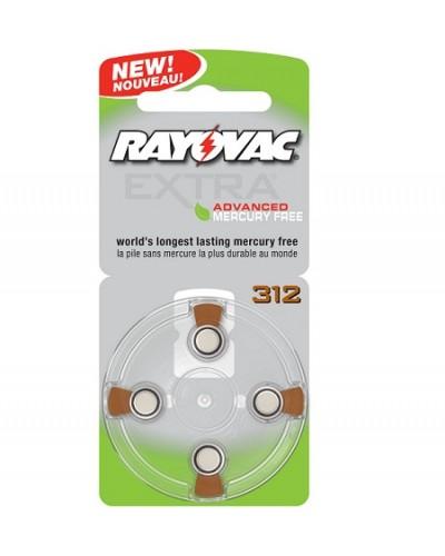 Rayovac EXTRA Mercury Free Zinc Air Batteries