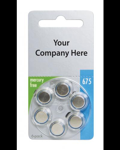 Varta Mercury-Free Private Label Batteries - Size 13