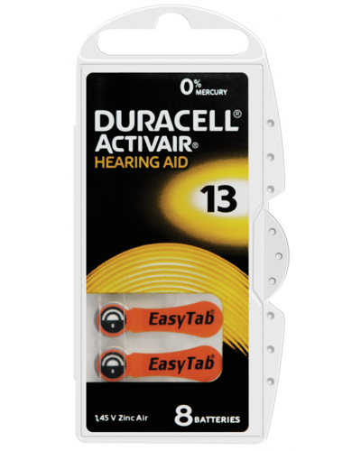 Duracell Activair Batteries Size 13