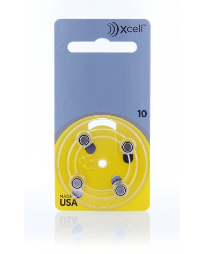 Xcell Batteries by Rayovac Size 10