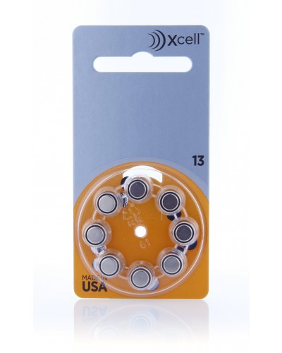 Xcell Batteries by Rayovac Size 13