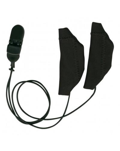 Cochlear, Binaural (dual), with cord, Black