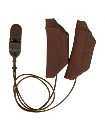 Cochlear, Binaural (dual), with cord, Brown