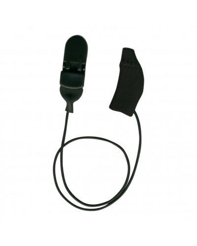 Mini Curved, Monaural (single), with cord, Black