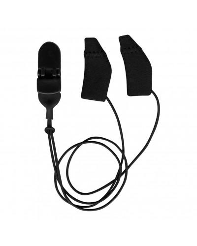 Mini Curved, Binaural (dual), with cord, Black