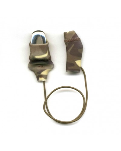 Mini Squared, Monaural (single), with cord, Camo