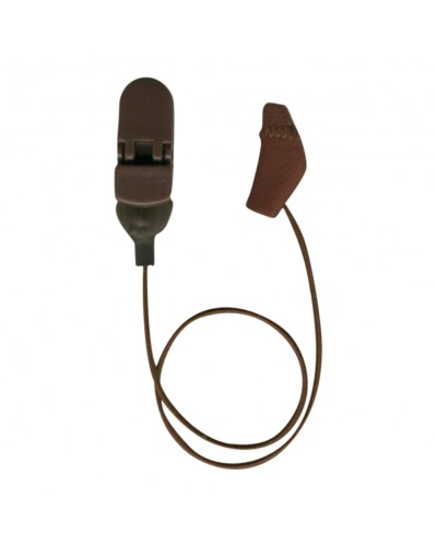 Micro, Monaural (single), with cord, Brown