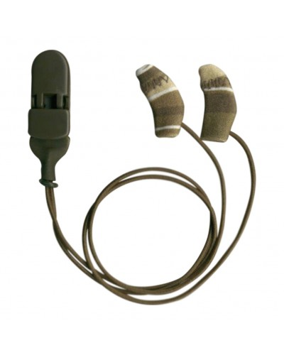 Micro, Binaural (dual), with cord, Camo