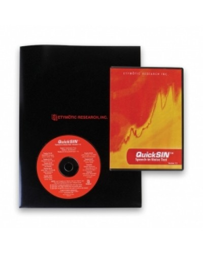 QuickSINTM Speech-in-Noise Test CD