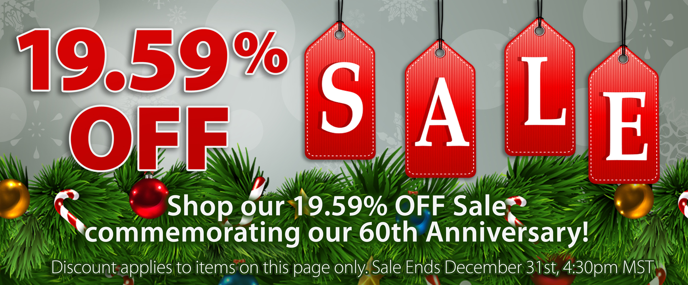 Westone Holiday Sale