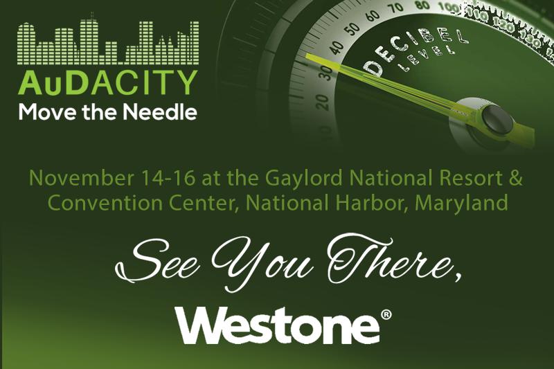 Visit us at AuDacity 2019, November 14-16 at the Gaylord National Resort & Convention Center, National Harbor, Maryland