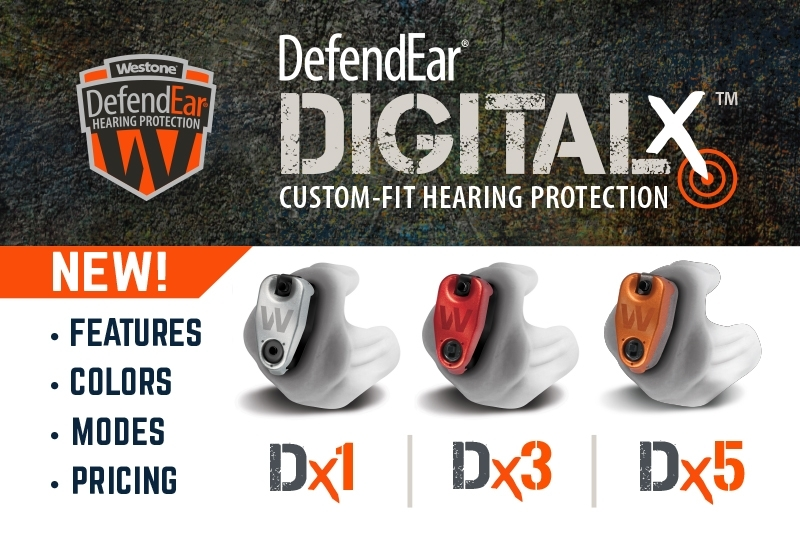 The All New DefendEar Digital X Series