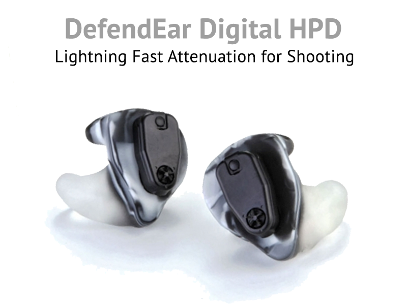 DefendEar Digitial hearing protection for Shooting and Hunting