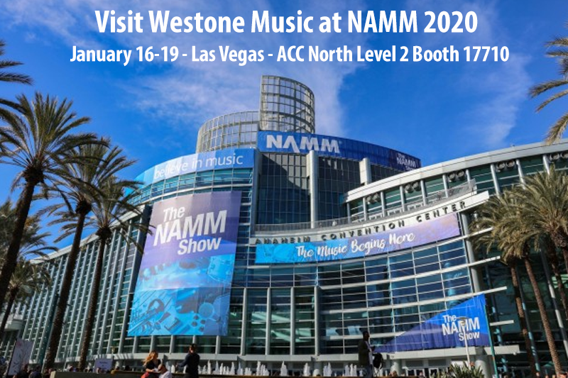 Visit Westone at NAMM 2020