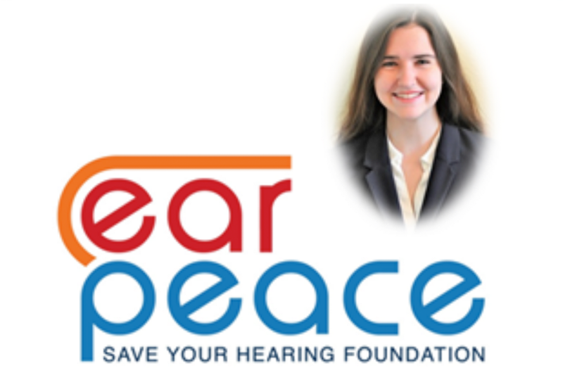 Kelly Culhane, Ear Peace Foundation Ambassador