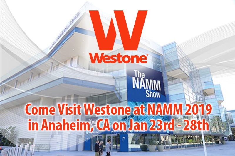 Westone Music at NAMM 2019