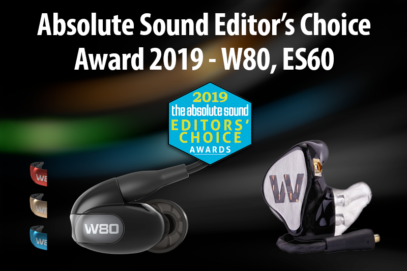 Absolute Sound Editor's Choice Award 2019