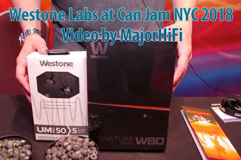 Westone Labs at Can Jam NYC 2018