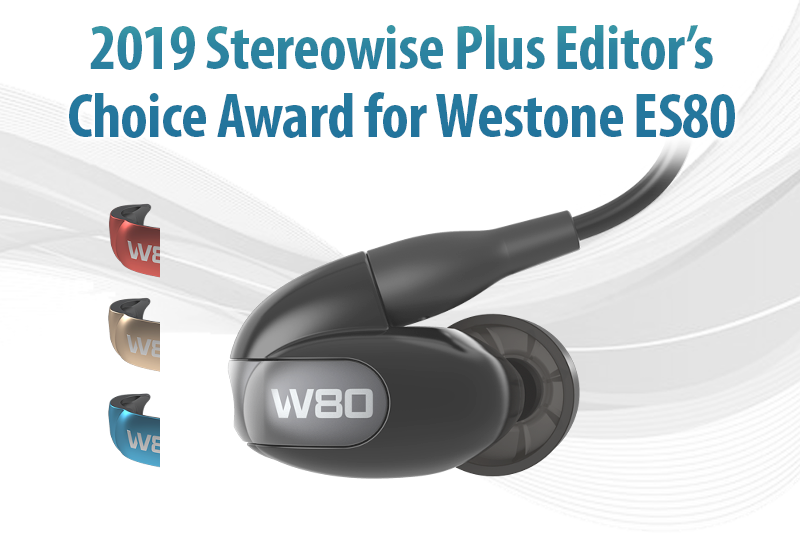2019 Stereowise Plus Editor's Choice - W80