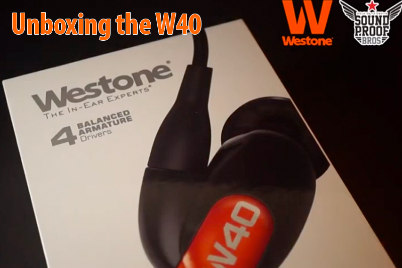 SoundProof Brothers Unboxing the W40