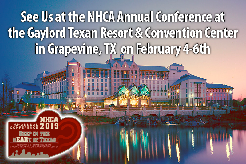 See Us at the NHCA Annual Conference at the Gaylord Texan Resort & Convention Center